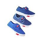 Синие кеды мокасины мальчикам, размеры 21, 24, 28, 29 Сетка, сменка, на физкультуру, фото 9