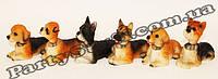 Статуэтки собаки с шатающейся головой (цена за 6 шт)