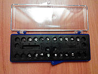 Galaxy series, металлические брекеты, Roth 018, 022 (полный набор)
