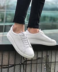 😜Кроссовки - Мужские стильные белые кроссовки