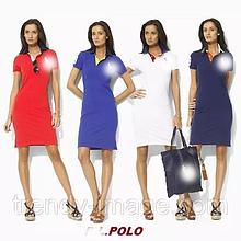 У стилі Ральф лорен жіноче плаття 100% бавовна лорен поло