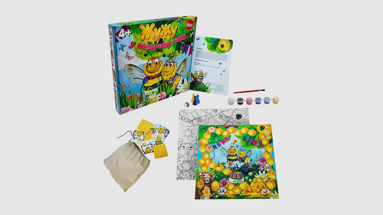 Настольная игра Жу Жу в цветущем саду STRATEG 30201