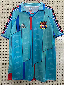 Ретро футбольная футболка Барселона