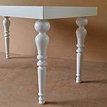 Меблеві ніжки і опори дерев'яні для столу точені H. D.120 /  КОД: Високі - 8, фото 2