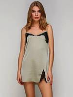Сорочка женская 982 от TM Serenade (Украина) Цвет оливковый