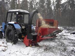 Дереводробильная машина РМ160Т (навесная на трактор)