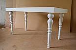 Меблеві ніжки і опори дерев'яні для столу точені H. D.120 /  КОД: Високі - 8, фото 3