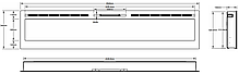 Настенный электрокамин AFLAMO MAJESTIC 100, фото 3