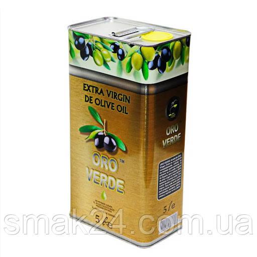 Масло оливковое  Oro Verde Gold Olio Extra Vergine   Испания 5л