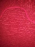 Набор ковриков в ванную и туалет с вырезом ROOM MAT 2 в 1 Микрофибра антискользящий бордовый