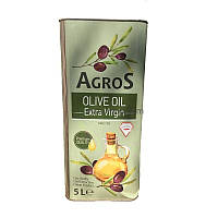 Масло оливковое  Agros Olive Oil Extra Virgin   Италия 5 л