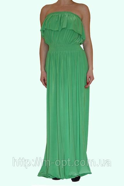 Платье Афина (салатный)