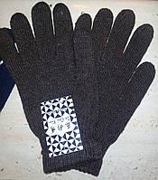 Перчатки теплые, коричневые, фото 1