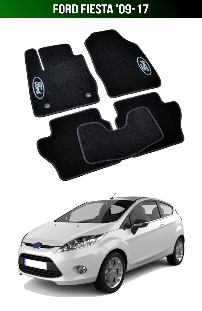 Килимки Ford Fiesta '09-17