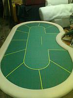Покерный стол на 10 игроков (без цифр)