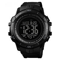 Skmei 1475 чорні чоловічі спортивні годинник, фото 1