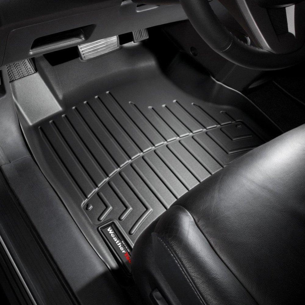 Ковры резиновые WeatherTech Honda CR-V 2007-2011 передние черные
