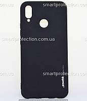 Силиконовый бампер для Huawei P Smart Plus, Nova 3i черный SMTT Soft Touch