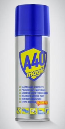 Спрей-очисник А40 Magic Spray, 400мл