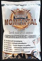"""Клей  для шпалер""""Momental Flizelin"""" 200г (для вінілових, флізелінових і під покраску шпалер, на 40м2)"""