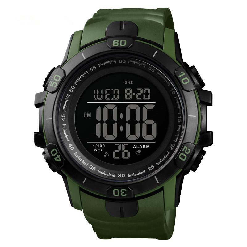 Skmei 1475 зеленые мужские спортивные часы