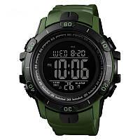 Skmei 1475 зеленые мужские спортивные часы, фото 1