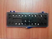 Ura-s series, металлические брекеты, Roth 018, 022 (полный набор)