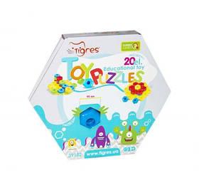 Развивающая игрушка «Снежинка», 20 эл  sco