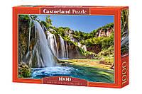 Пазлы Водопады, 1000 элементов Castorland