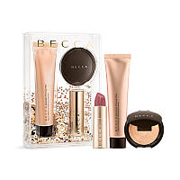 Набор BECCA Your Glow-To Glow Primer, Highlighter & Lip Kit, фото 1