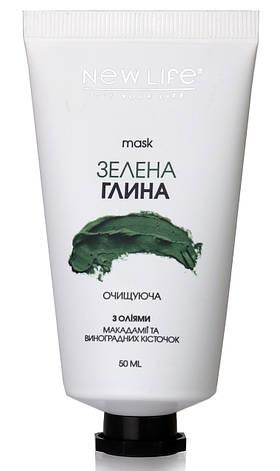 Маска с зеленой глины Очищающая для всех типов кожи, фото 2