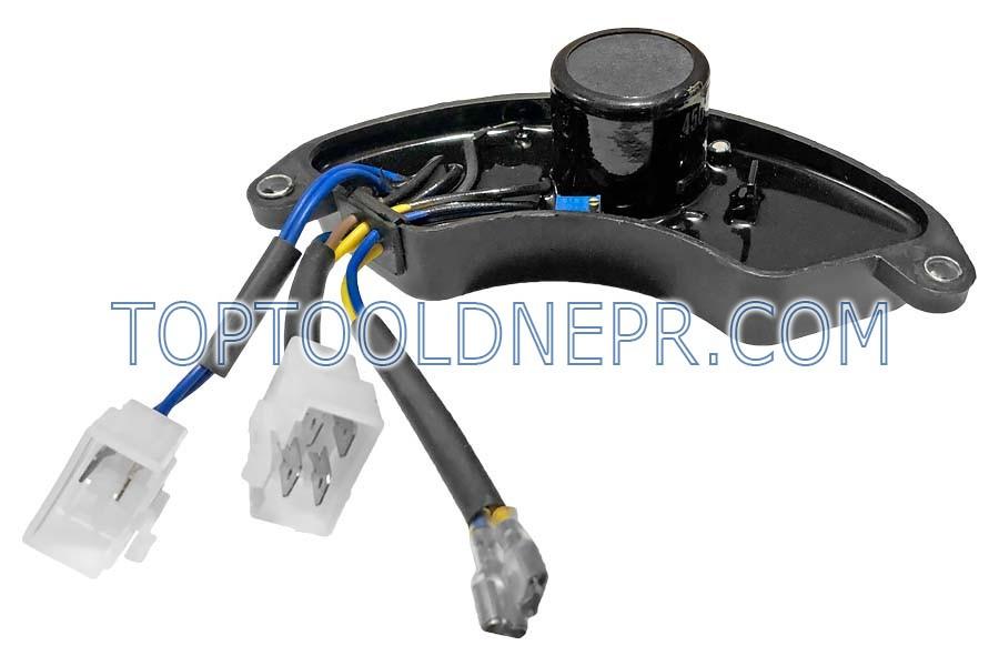 Блок регулятора напряжения (AVR) для генераторов 5,5kW-6,5kW 188F-380V 450V 680мкф
