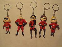 """Брелок для ключей """"Мультик Супер Семейка"""""""