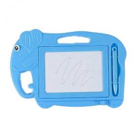 """Магнитная доска для рисования """"Слоник"""" (синий)  sco"""