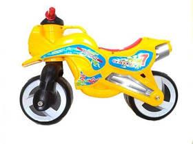 "Каталка ""Мотоцикл"" (оранжевый)  sct"