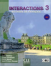 Interactions 3 Méthode de Français A2  Livre + Cahier d`exercices + DVD-ROM / CLE International