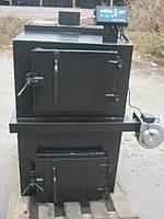 Котёл пиролизный твердотопливный Экомер 15-25 кВт, фото 1