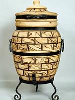 """Тандыр печь дизайн """"Кирпич"""" №6 85 литров, фото 1"""