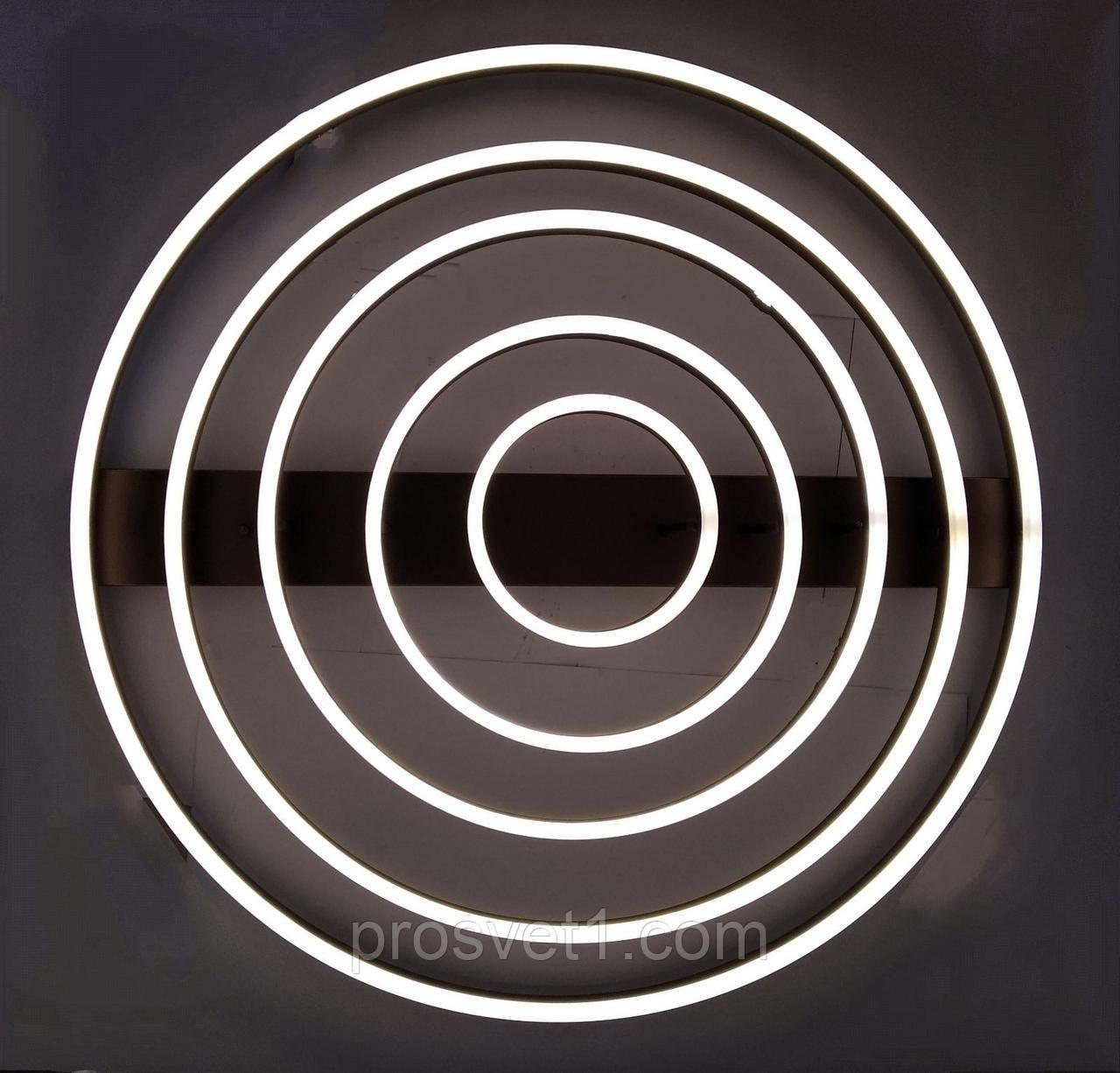 Люстра светодиодная круги (B7703 CF 374W)