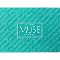 Альбом-склейка для акварели MUSE Aquarelle A5, плотность бумаги 300 г/м2, 15 листов