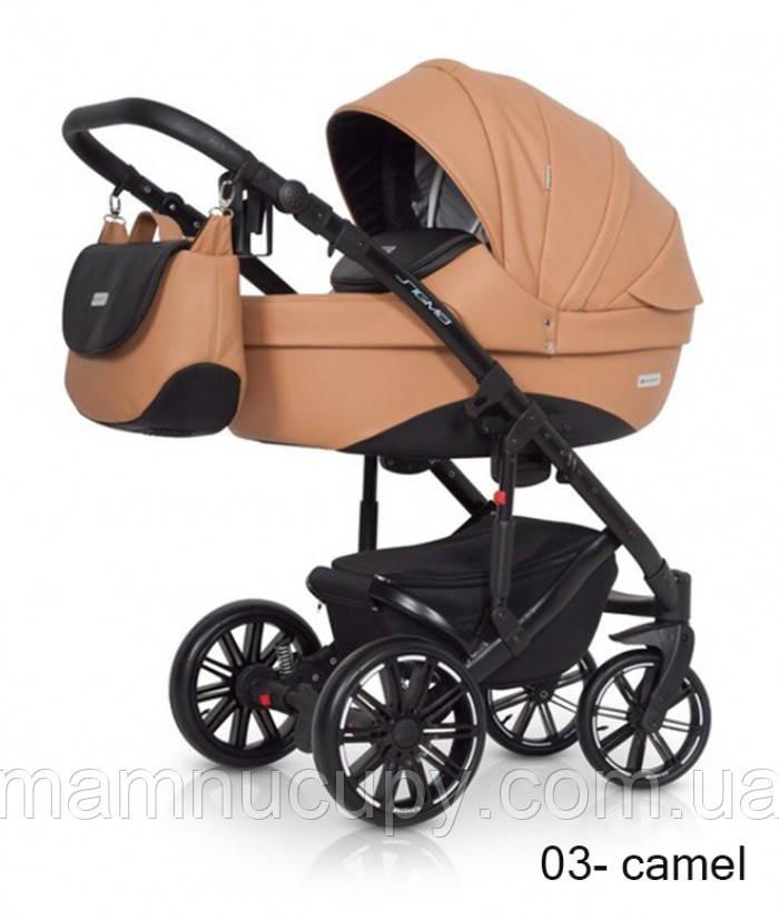 Детская универсальная коляска 2 в 1 Riko Sigma 03 Caramel (Рико Сигма)