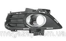 Решетка бампера левая Ford Mondeo V, Fusion USA (13-17)