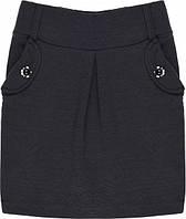 Юбка для девочки черная школьная  Marions (размер 134)