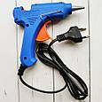 Пистолет клеевой, термопистолет для рукоделия под стержни 7 мм 20 Вт. Термопістолет 7 мм 20 Вт АСК, фото 4