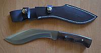 Туристический нескладной нож кукри Сокол 4, классифицируется как хозяйственно-бытовой инструмент, с чехлом