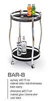 Сервировочный столик BAR-8 черный
