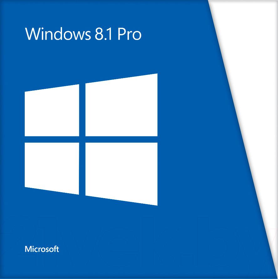 Microsoft Windows 8.1 Pro 32-bit/64-bit Russian DVD BOX (FQC-07350) поврежденная упаковка