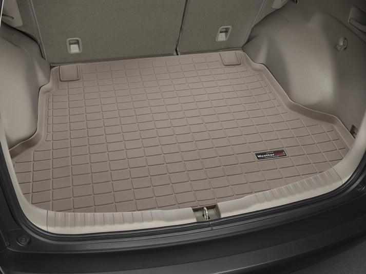 Коврик резиновый WeatherTech Honda CR-V 2012-2017 в багажник  бежевый