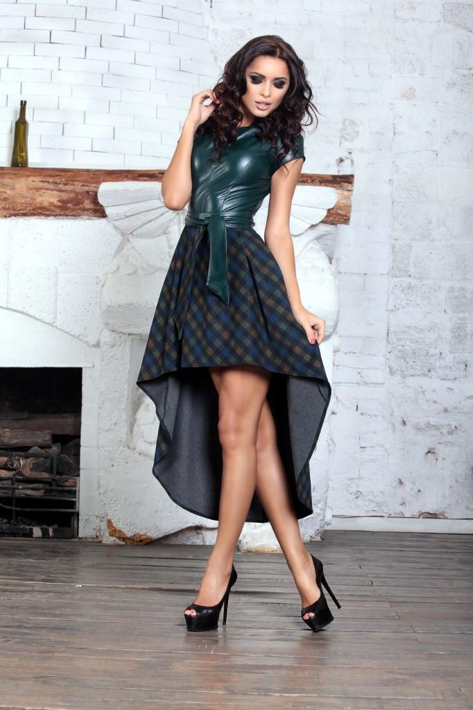 885d4ebdd698577 Шикарное женское платье эко кожа + французкий трикотаж: продажа ...
