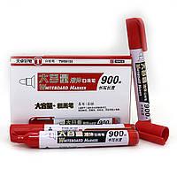 TW88150  Маркер TY для доски, сухостираемый, красный, круглый наконечник. Красный маркер для доски флипчарт